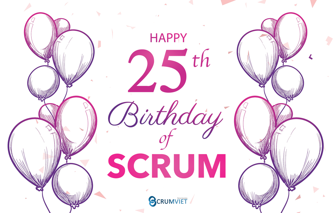 Happy 25th Birthday of Scrum!